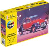 Heller 56766 Starter Kit Citroen 2CV Charleston 1:24