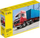 Heller 81702 F12-20 Globetrotter & Container semi trailer 1:32