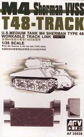 AFV-Club 35038 T-48 Sherman Tracks (ARTICULATED) 1:35