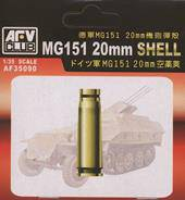 AFV-Club 35090 MG151 20 mm SHELL CASE (METAL) 1:35