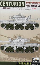 AFV-Club 35101 Centurion Suspension and wheels 1:35