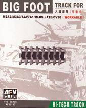 AFV-Club 35133 BIG FOOT Tracks (BRADLEY/AAV7/MLRS) 1:35