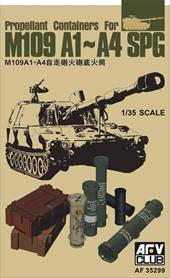 AFV-Club AF35299 Propellant Containers for M109 A1-A4 SPG 1:35