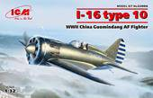 ICM 32006 I-16 type 10, WWII China Guomindang AF Fighter 1:32