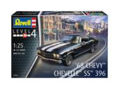 Revell 07662 1968 Chevy Chevelle SS 396 1:25