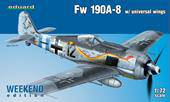 Eduard 7443 Fw 190A-8  Weekend Edition 1:72