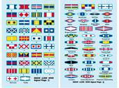 Trumpeter 06630 WWII Signal Flags 1:200