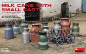 MiniArt 35580 Milk Cans with Small Cart 1:35