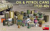 MiniArt 35595 Oil & Petrol Cans 1930-40s 1:35