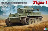 Rye Field Model RM-5003 Tiger I Early Production with full interior 1:35