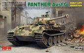 Rye Field Model RM-5018 Panther Ausf.G Early/Late production 1:35