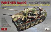 Rye Field Model RM-5019 Panther ausf.G with full interior & cut away parts 1:35