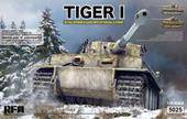 Rye Field Model RM-5025 TIGER I Early Production with full interior 1:35