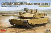 Rye Field Model RM-5026 M1A2 Abrams TUSK I/ TUSK II with full interior 1:35