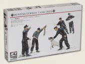 AFV-Club AF35092 Hunting German Tank Crew-5 Figures w/dog 1:35