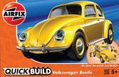Airfix J6023 Quickbuild Volkswagen Beetle - Yellow