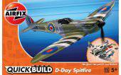 Airfix J6045 Quickbuild D-Day Spitfire