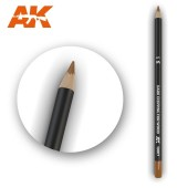 AK Interactive AK10017 Watercolor Pencil Dark Chipping for wood (1 piece )