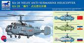 Bronco Models BB2003 Kamov KA-28 HELIX Anti-Submarine Helicopter 1:200