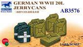 Bronco Models AB3576 German WWII 20L Jerrycans 1:35