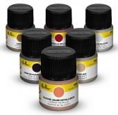 Heller 9404 Paint Set Oltimer acrylic 6 x 12 ml