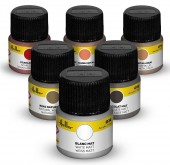 Heller 9406 Paint Set acrylic 6 x 12 ml