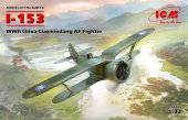 ICM 32012 I-153, WWII China Guomindang AF Fighter 1:32
