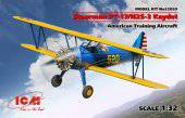 ICM 32050 Stearman PT-17/N2S-3 Kaydet American Training Aircraft 1:32