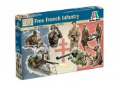 ITALERI 6189s 1:72 WWII: FREE FRENCH INFANTRY - 49 figures