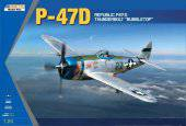 KINETIC K3207 P-47D Thunderbolt Bubble Top 1:24
