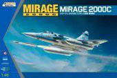 KINETIC K48042 Mirage 2000C Multi-role Combat Fighter 1:48