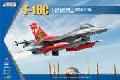 KINETIC K48069 F-16C TURKEY Tiger Meet 2007 1:48