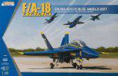 KINETIC K48073 USN BLUE ANGLE 2017 F/A-18A/B/C/D 1:48