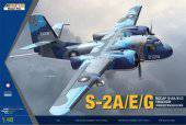 KINETIC K48074 ROCAF S-2A/E/G Tracker 1:48