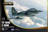 KINETIC K48089 TF-104G Germany Air Force1:48