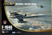 KINETIC K48090 F-104G RNLAF Starfighter NETHERLAND 1:48