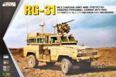 KINETIC K61010 RG-31 MK3 Canada Army W/Crows 1:35