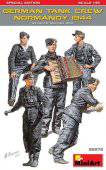 MiniArt 35275 German Tank Crew (Normandy 1944) Special Edition 1:35