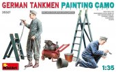 MiniArt 35327 German Tankmen Painting Camo 1:35