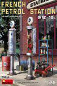 MiniArt 35616 French Petrol Station 1930-40S 1:35