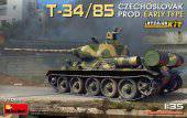 MiniArt 37069 T-34/85 Czechoslovak Prod. Early Type. Interior Kit 1:35