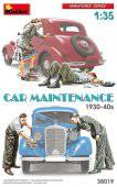 MiniArt 38019 Car Maintenance 1930-40s 1:35