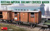 MiniArt 39002 Russian Imperial Railway Covered Wagon 1:35