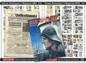 Plus model 165 German Newspapers and Magazines WW II 1:35