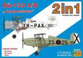 RS Models 92220 Bucker-133 A/B Jungmeister 2 in 1  1:72