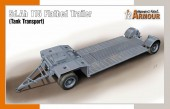 Special Hobby 100-SA 72022 Sd.Ah 115 Flatbed Trailer (Tank Transport) 1:72