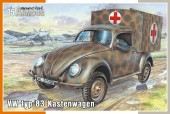 Special Hobby 100-SA35005 VW typ 83 Kastenwagen 1:35